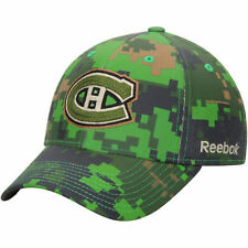 Montreal Canadiens Reebok Canada Structured Flex Hat - Camo - NHL