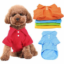 Pet Puppy Summer Shirt Small Dog Cat Pet Clothes Costume Apparel T-Shirt cloth