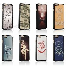 New Quirky Funny Joke Quote Hard Case Back Skin Cover For Apple iphone 6 6s Plus