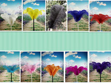 Wholesale 10-100pcs high quality natural ostrich feathers 10-12 inch / 25-30cm