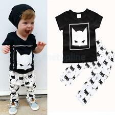 Baby Boy Clothing Sets Newborn Cotton Outfit Short T-Shirt+Pants Summer Clothes