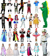 New Kids Children Toddlers Complete Outfit Fancy Dress Costume