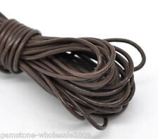 Wholesale Lots Coffee Leatheroid Jewelry Cord 2mm