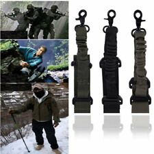Adjustable Hunting 1 One Point Rifle Sling Bungee Tactical Shotgun Strap Syste#F