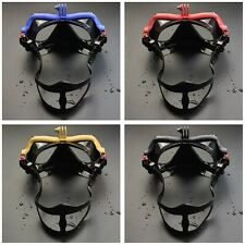 Underwater Camera Plain Diving Mask Scuba Snorkel Swimming Goggles for GoPro F5