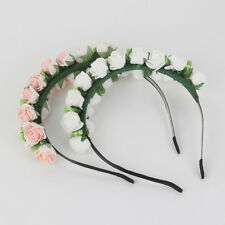 Flower Garland Floral Bridal Headband Hairband Wedding Prom Hair Accessories F5