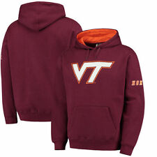 Virginia Tech Hokies Stadium Athletic Big Logo Pullover Hoodie - Maroon - NCAA