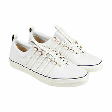 K-Swiss X Billy Reid Arlington NL Mens White Leather Lace Up Sneakers Shoes