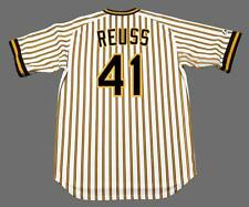 JERRY REUSS Pittsburgh Pirates 1977 Majestic Cooperstown Home Baseball Jersey