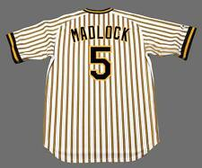 BILL MADLOCK Pittsburgh Pirates 1979 Majestic Cooperstown Home Baseball Jersey