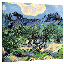 VanGogh 'Olive Trees' Wrapped Canvas Art