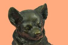Office & Home Decor Art Collectible Bronze Sculpture, Statue Animal Chihuahua