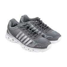 K-Swiss X-Lite Athletic CMF Womens Grey Mesh Athletic Lace Up Training Shoes