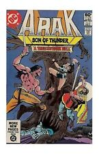 Arak, Son of Thunder #4 (Dec 1981, DC) FN/VF COMIC BOOK