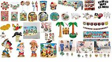 Jake and The Neverland Themed Party Products Plates Cups Straws Napkins Tumblers