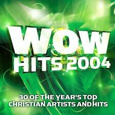 WOW Hits 2004 by Various Artists (CD, Oct-2003, 2 Discs, Sparrow Records)