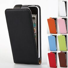 Luxury Genuine Leather Magnetic Flip Fitted Case Cover Pouch For Apple iPhone 5C