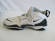 NEW Nike Zoom Air Code Football Turf Cleats - White/Black (Multiple Sizes)