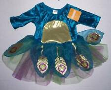 NWT GYMBOREE Teal Peacock Costume Dress 6-12 or 12-18 mo Halloween