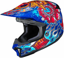 HJC CL-X7 Zilla Motorcycle MX Off-Road Helmet-Brand New-Closeout Pricing!