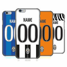 CUSTOM CUSTOMIZED PERSONALIZED JUVENTUS FC BACK CASE FOR APPLE iPHONE PHONES