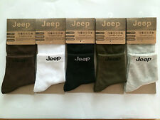 Jeep Comfortable 1Pairs Ankle Crew Men Cotton Casual Sport Multi Color Socks 02