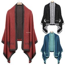 Fashion Women Winter Warm Animal Print Shawl Wrap Stole Neck Long Scarf Cardigan