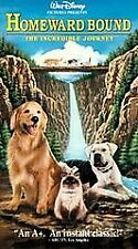 Homeward Bound: The Incredible Journey (VHS, 1993)