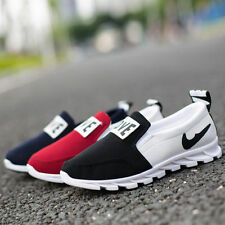 Breathable casual shoes General lazy canvas shoes Red Blue Black Gym shoes