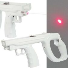 Wii Laser Sight Light Gun Use With Shooting Games Remote & Nunchuck Not Included