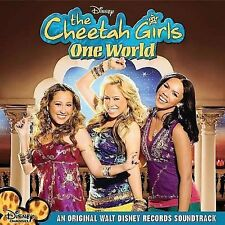 One World Original Soundtrack by The Cheetah Girls (CD Aug-2008) Adrienne Bailon