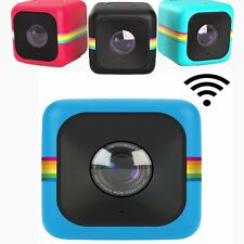 Polaroid Cube+ Plus WiFi Lifestyle Action Camcorder Video Camera HD 4 Color