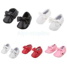Baby Infant Soft Sole PU Leather Shoes Bowknot Girl Infant Toddler Crib Sneakers