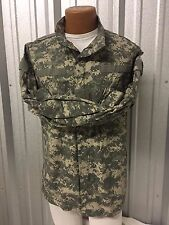 US ARMY ACU UCP DIGITAL CAMO COAT SHIRT TOP MILITARY COMBAT TACTICAL UNIFORM VGC