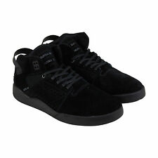 Supra Skytop III Mens Black Suede Lace Up Sneakers Shoes
