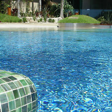 Pool Mosaic Tiles Glass 300x300mm from $2.20 per sheet