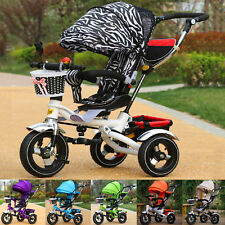 Zebra Children Toddler Pram Trike Bike Toddler Kid Trike Z16B8 Baby New Tricycle