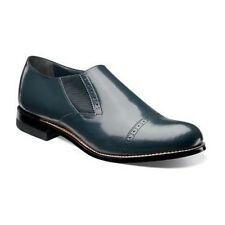 Stacy Adams Madison Cap Toe Slip-On - Navy