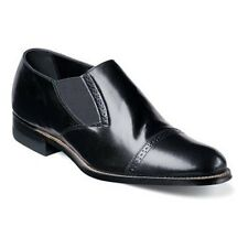 Stacy Adams Madison Cap Toe Slip-On - Black
