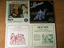 LOT OF 4 CLASSICAL RECORDS