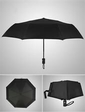 Men's Auto Open&Close Folding Travel Compact Umbrella Waterproof Windproof