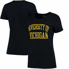 Michigan Wolverines Champion Women's University T-Shirt - Navy - NCAA