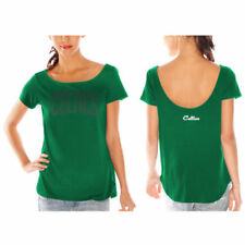 Boston Celtics Women's Backtrack Rhinestone T-Shirt - Kelly Green - NBA