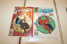 AMAZING SPIDER-MAN #300 & 301  FIRST VENOM