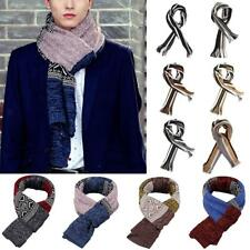 Men's Stripe Wrap Scarf Shawl Winter Warm Long Scarves Fashion