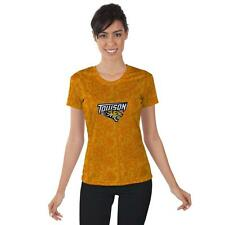 Towson University Tigers Womens Short Sleeve Shirt Lace  Design