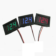 2 Wires DC 4.5-30V Mini LED Digital Display Voltmeter Volt Voltage Panel Meter