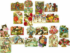 1 PK OF 4 NO VERSE Blank Inside GIFT/NOTE CARDS by THE GIFTED LINE Punch Studio
