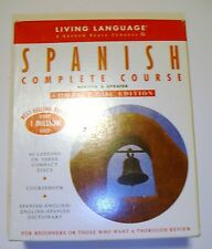 Complete Course SPANISH ENGLISH 3 Compact Disc Edition Dictionary Coursebook Set