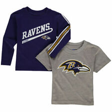 Baltimore Ravens Outerstuff 17 Toddler Fan Gear Squad   Combo Pack